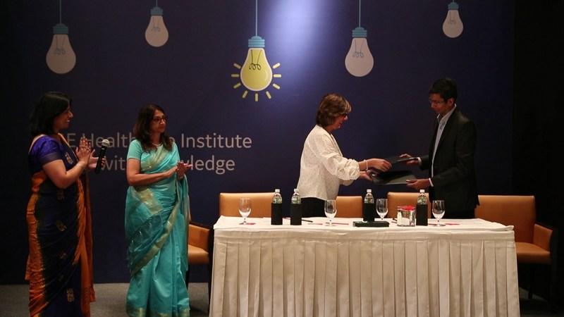 GE HCI and Saint Elizabeth Health Care : MoU signing (PRNewsfoto/GE Healthcare Institute)