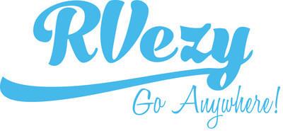 Logo : RVezy Inc. - Le Marché le plus grand au Canada de location de VR (Groupe CNW/RVezy Inc)