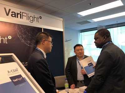 VariFlight Booth at ICAO 13th Air Navigation Conference.