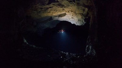 Drone mapping in the underground mining