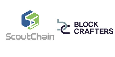 ScoutChain, a blockchain-based recruitment platform, announces strategic partnership with Block Crafters. (PRNewsfoto/ScoutChain Pte. Ltd.)