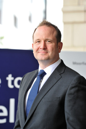 David Probert, CEO of Moorfields Eye Hospital and Chair of the WAEH (PRNewsfoto/Moorfields Eye Hospital Dubai)