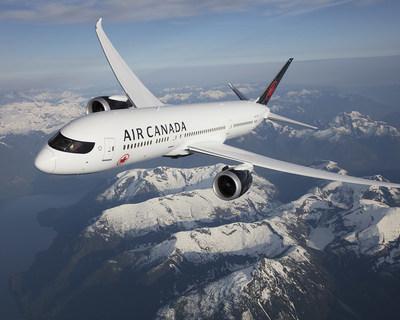 Un Boeing 787 Dreamliner de Air Canada. (Groupe CNW/Air Canada)