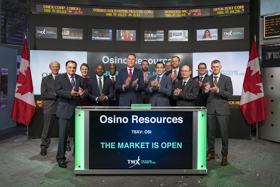 Osino Resources Corp. Opens the Market (CNW Group/TMX Group Limited)
