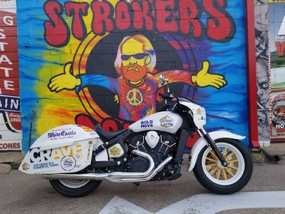 The White Castle Crave Cruiser was built by 2017 Cravers Hall of Fame member, Walter Buttkus, and unveiled at Strokers Dallas on October 11, 2018.