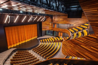 Pittsburgh Playhouse's 550-seat PNC Theatre at Point Park University (Photo courtesy of Point Park University)