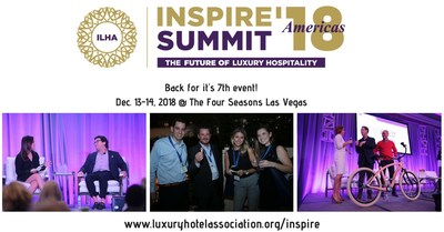 If you want to be successful in luxury hospitality, you can�t miss INSPIRE '18.