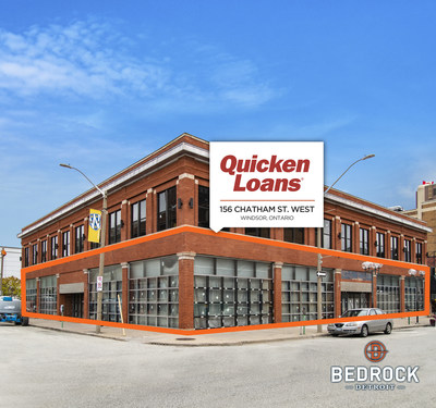 Quicken Loans and its Family of Companies new location in the historic Old Fish Market Building (156 Chatham St. West) in downtown Windsor, Ontario.