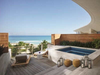 Recently recognized as North America's Leading Honeymoon Destination 2018 by the industry's most prestigious awards program, The World Travel Awards, Miami Beach gifts newlyweds from around the globe with the ultimate post-wedding celebration options, including private oceanfront bungalows at Edition Hotel.