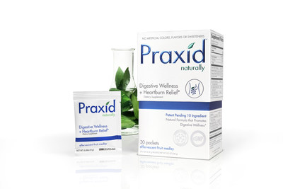 Praxid helps relieve, protect, support and balance the digestive system.