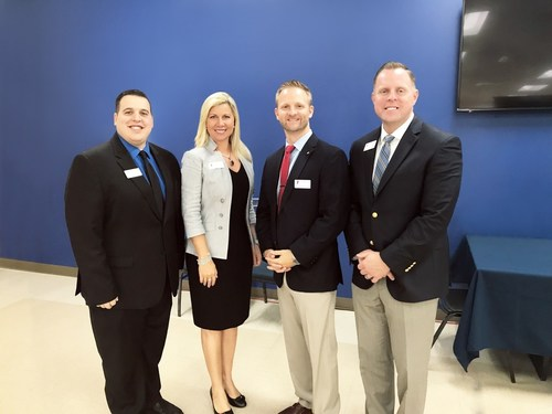 From left to right: Gilbert Garcia (Executive Director), Anne Arvizu (Chair), Ryan Smith (Vice President Ops) and Jake Steger (Chief Operating Officer)