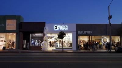 FIGS Pop-Up Shop on Melrose