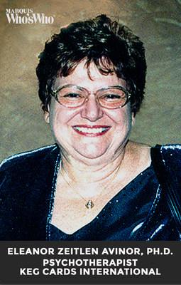Eleanor Zeitlen Avinor, Ph.D., Celebrated as Co-Inventor of KEG Cards
