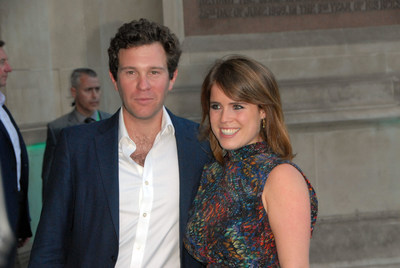 Jack Brooksbank and Princess Eugenie of York's wedding and exclusive commentary from the executive producer is available on demand at TrueRoyalty.tv. Photo Credit: Johnny Armstead/Alamy Live News