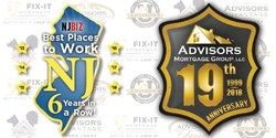 Advisors Mortgage Group, LLC has been selected as one of the Best Places to Work in NJ by NJBIZ for a sixth year in a row!