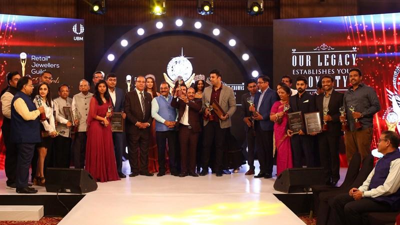 Retail Jewellery Guild Awards - Winners (PRNewsfoto/UBM India Pvt. Ltd.)