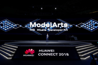Zheng Yelai, Vice President of Huawei and President of Huawei's Cloud BU at the ModelArts launch event