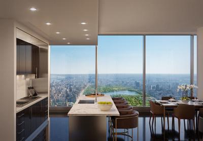 全球较高住宅楼Central Park Tower现已开售