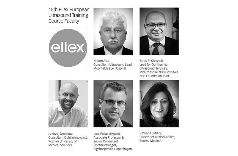Ellex European Ultrasound Course Faculty (PRNewsfoto/Haag-Streit UK)