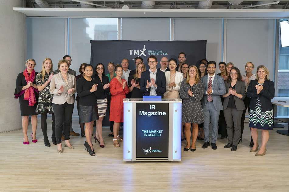 IR Magazine Closes the Market (CNW Group/TMX Group Limited)