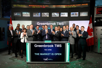 Greenbrook TMS Inc. Opens the Market (CNW Group/TMX Group Limited)
