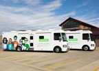Delta Dental member companies' community benefits funding in 2017 assisted in the continuation of a successful, multimillion-dollar mobile dental program offered by Delta Dental of South Dakota. Two fully staffed mobile dental clinic trucks tour communities statewide on average 40 weeks per year to address the oral health needs of underserved children.
