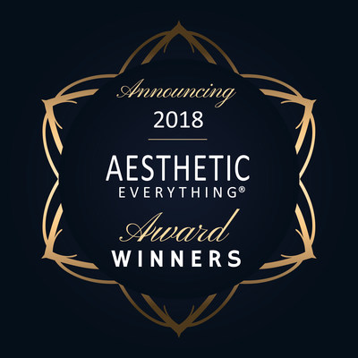 Aesthetic Everything® is excited to announce the winners in their prestigious 2018 Aesthetic Everything® Aesthetic and Cosmetic Medicine Awards.