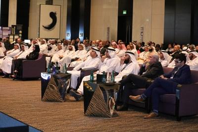 Senior ADNOC delegates attending opening session of MESPON 2018 (PRNewsfoto/UniverSUL Consulting)