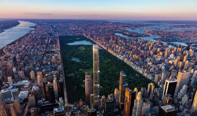 Central Park Tower, o mais alto prédio residencial do mundo, inicia vendas.