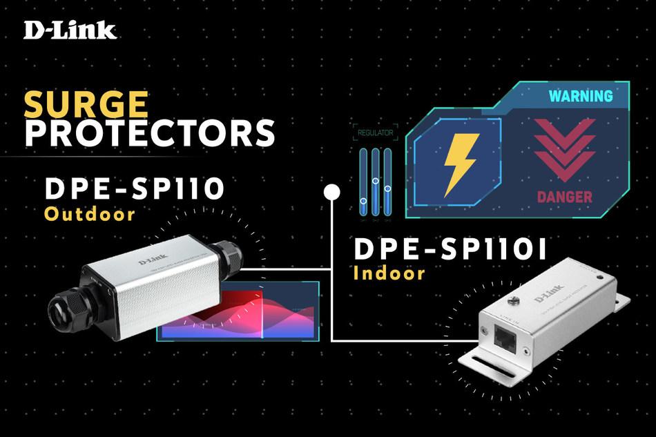 DPE-SP110 and DPE-SP110I surge protectors