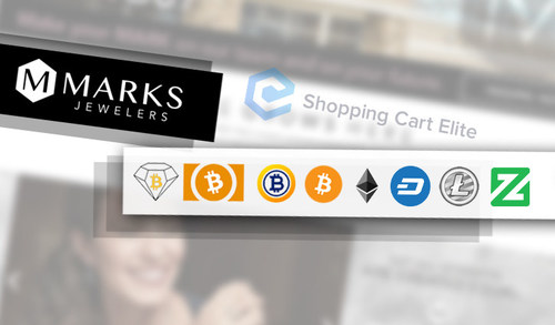 Marks Jewelers' online store will now be accepting payments in seven different cryptocurrencies, powered by Shopping Cart Elite. Supported cryptocurrencies include Bitcoin Diamond (BCD), Bitcoin Cash (BCH), Bitcoin (BCD), Bitcoin Gold (BTG), Dash, Ethereum (ETH), Zcoin (XZC) and Litecoin (LTC).