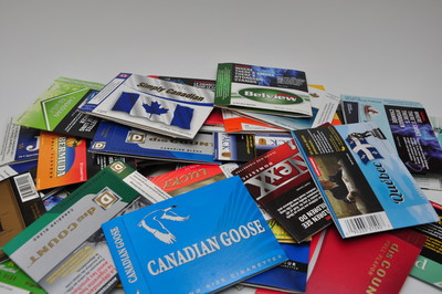 One in three cigarettes sold in Ontario are illegal, 4 in 5 of which are branded packs. Contraband tobacco like this does not follow health regulations for packaging, often includes banned flavours like menthol, and don't pay all federal and provincial taxes. (CNW Group/National Coalition Against Contraband Tobacco (NCACT))