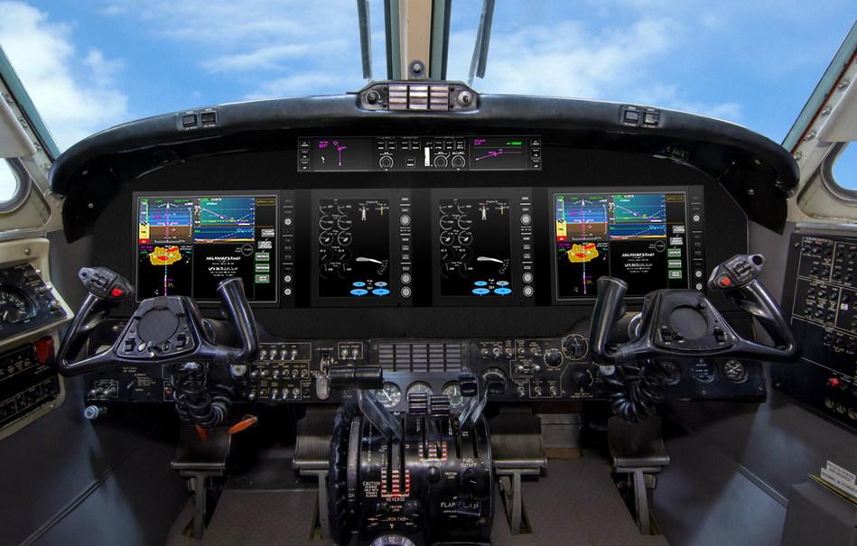 Textron Aviation King Air Cockpit