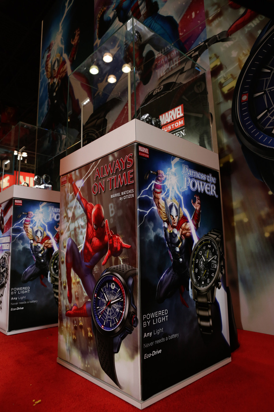 Citizen unveils brand new Marvel Heroes inspired collection at New York Comic Con, available Spring 2019.