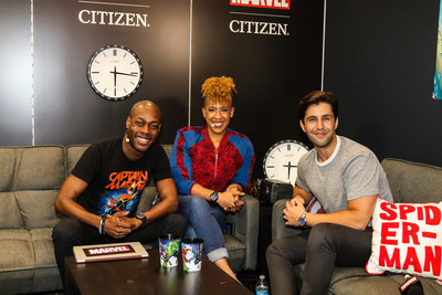 New Citizen ambassador, Josh Peck, partners with Citizen to launch the Marvel Citizen collection at this years New York Comic Con.