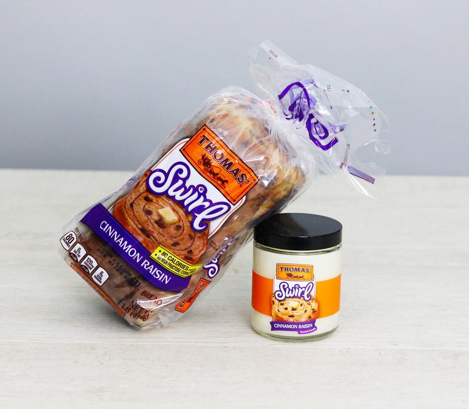 Thomas' Cinnamon Raisin Swirl Bread Candle