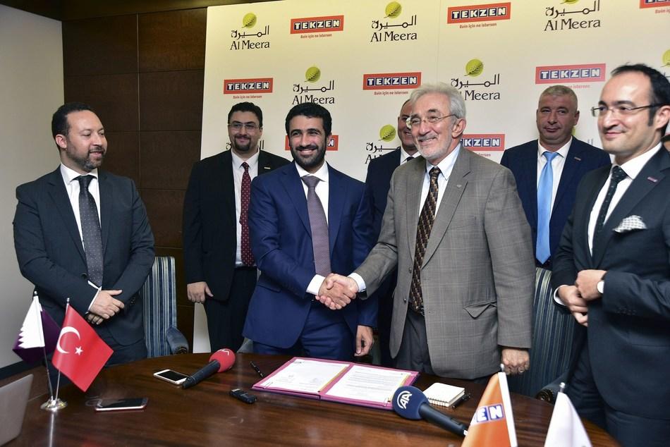 Tekzen Becomes Partner in Business of Qatari Al Meera