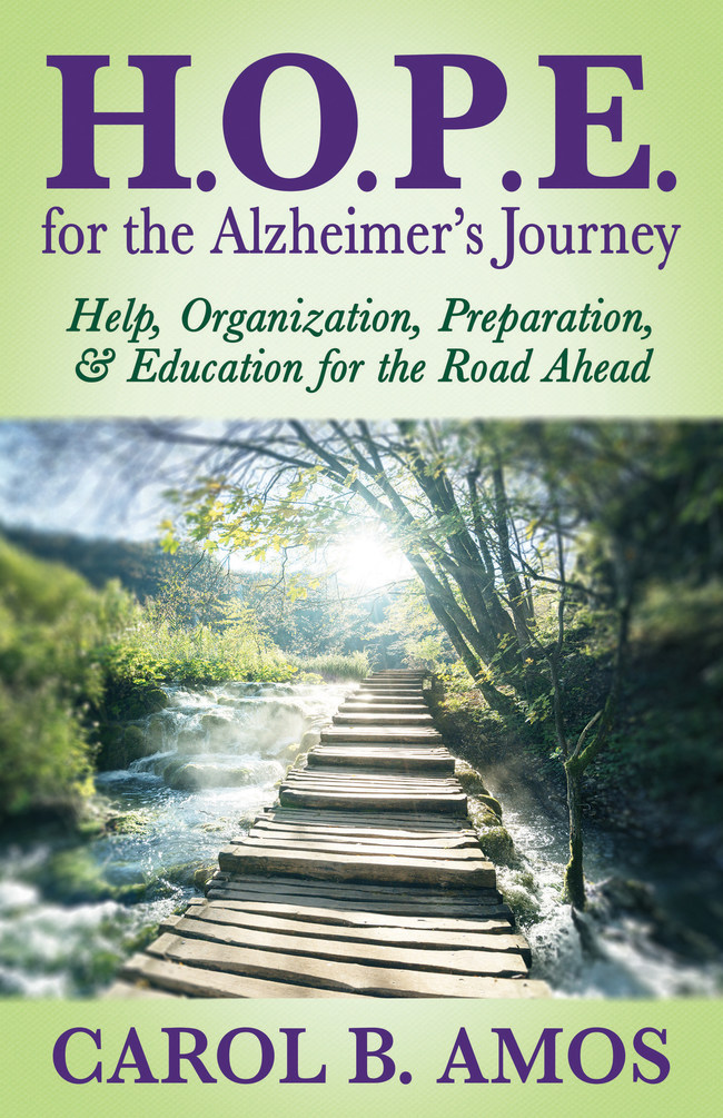 H.O.P.E for the Alzheimer's Journey book cover