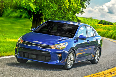 Kia Rio 2018 recibe calificación Top Safety Pick Plus del Insurance Institute for Highway Safety (PRNewsfoto/Kia Motors America)
