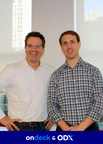 Noah Breslow (left), CEO of OnDeck and Brian Geary, president of ODX.