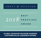 Fortinet Commended by Frost & Sullivan for Protecting the Entire Attack Surface with its FortiSandbox Line of Cybersecurity Solutions