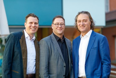 Figure 1: Management Team of Bruker-Hain Diagnostics, from left to right: Tobias Hain, Wolfgang Pusch and David Hain