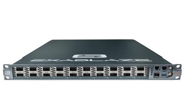 ExaLINK Hydra - 160x 10GbE Layer 1 switch in 1 RU (PRNewsFoto/Exablaze)