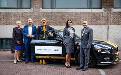 Hertz and SkyTeam air alliance celebrate new partnership to drive car rental benefits for Frequent Flyers