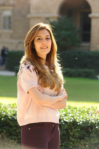 Nour Majbour, full-time research associate at QBRI, has been selected among the top nine contestants on leading edutainment show Stars of Science (PRNewsfoto/Hamad Bin Khalifa University)