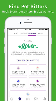 Download ScritchSpot to find the perfect pet to adopt, learn about dog training and cat behavior, post pet photos, read dog and cat product reviews, find a pet sitter or dog walker, discover nearby pet-friendly locations through the map, store and share pet care information, and much more.