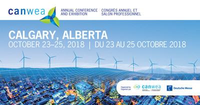 Avis : Les représentants des médias peuvent se procurer une accréditation en vue du plus grand congrès sur l'énergie éolienne au Canada, du 23 au 25 octobre à Calgary (Groupe CNW/Canadian Wind Energy Association)