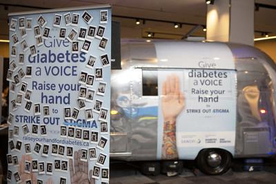 Les Canadiens sont invités à prendre part à la conversation : Levez la main pour le diabète (Groupe CNW/Sanofi Canada)