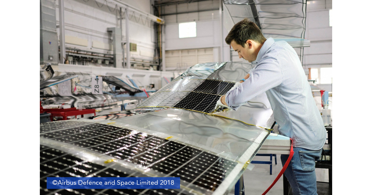 MicroLink Devices Powers Successful Stratospheric Flight of Airbus Defence and Space Zephyr S HAPS Solar Aircraft