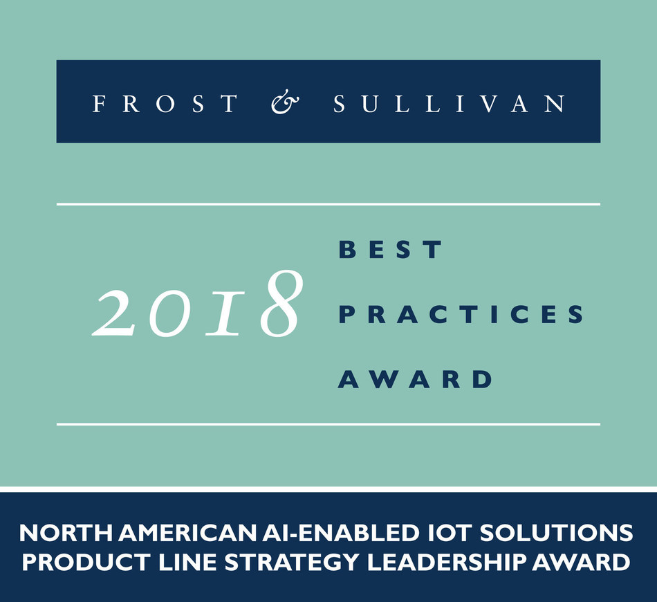 Eigen Innovations 2018 North American AI-enabled IoT Solutions Product Line Strategy Leadership Award
